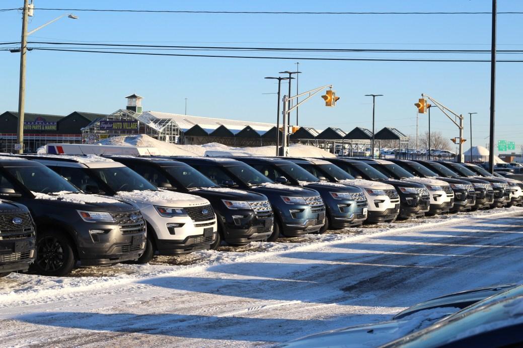 Les VUS sont en tête des ventes au Nouveau-Brunswick. - Acadie Nouvelle: Simon Delattre