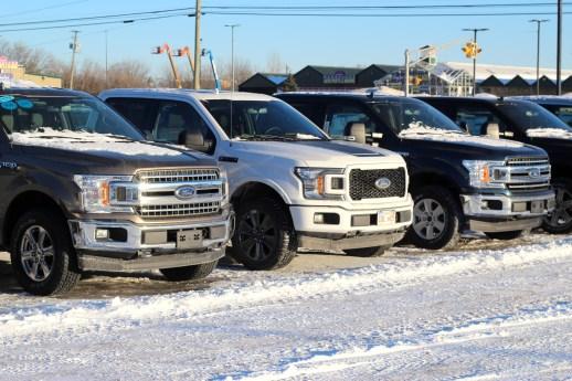 Les plus gros véhicules sont en tête des ventes au Nouveau-Brunswick. - Acadie Nouvelle: Simon Delattre