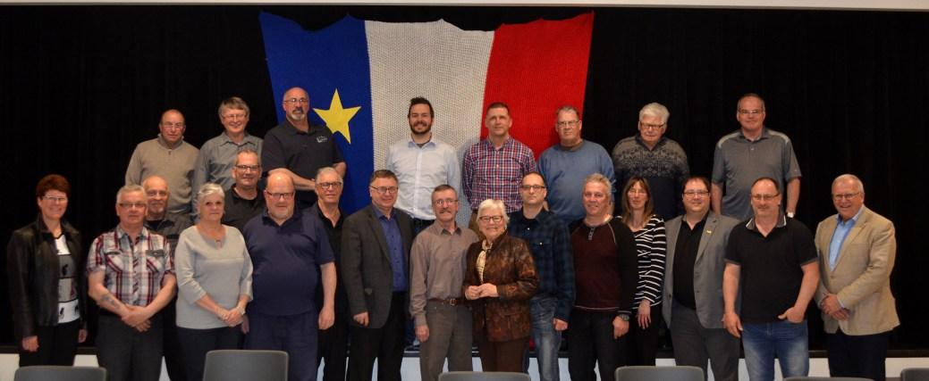 Les élus des régions Avignon, Bonaventure, Chaleur et Restigouche se sont entendus pour travailler ensemble afin de préparer une proposition commune pour la tenue du CMA 2024. - Acadie Nouvelle: Jean-François Boisvert