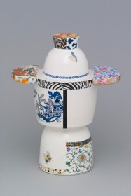 Une oeuvre de Léopold L. Foulem, Vase sculptural 1622. - Gracieuseté: Richard Millette
