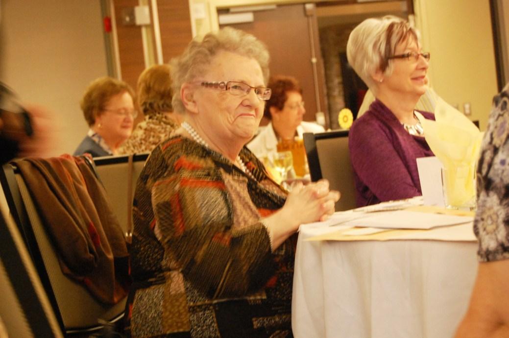 Le 5 octobre 2013, Gemma Caron et les Dames d'Acadie de Campbellton ont célébré le 45e anniversaire de fondation de l'organisme. - Archives