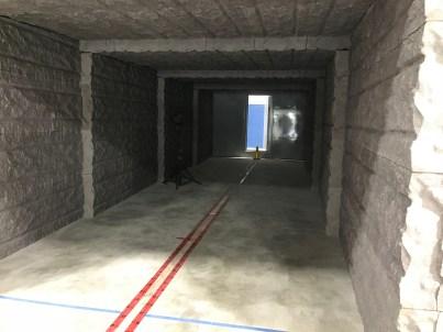Un corridor couvert de styromousse à haute densité est à l'essai chez Solutions Novika. - Gracieuseté: Solutions Novika