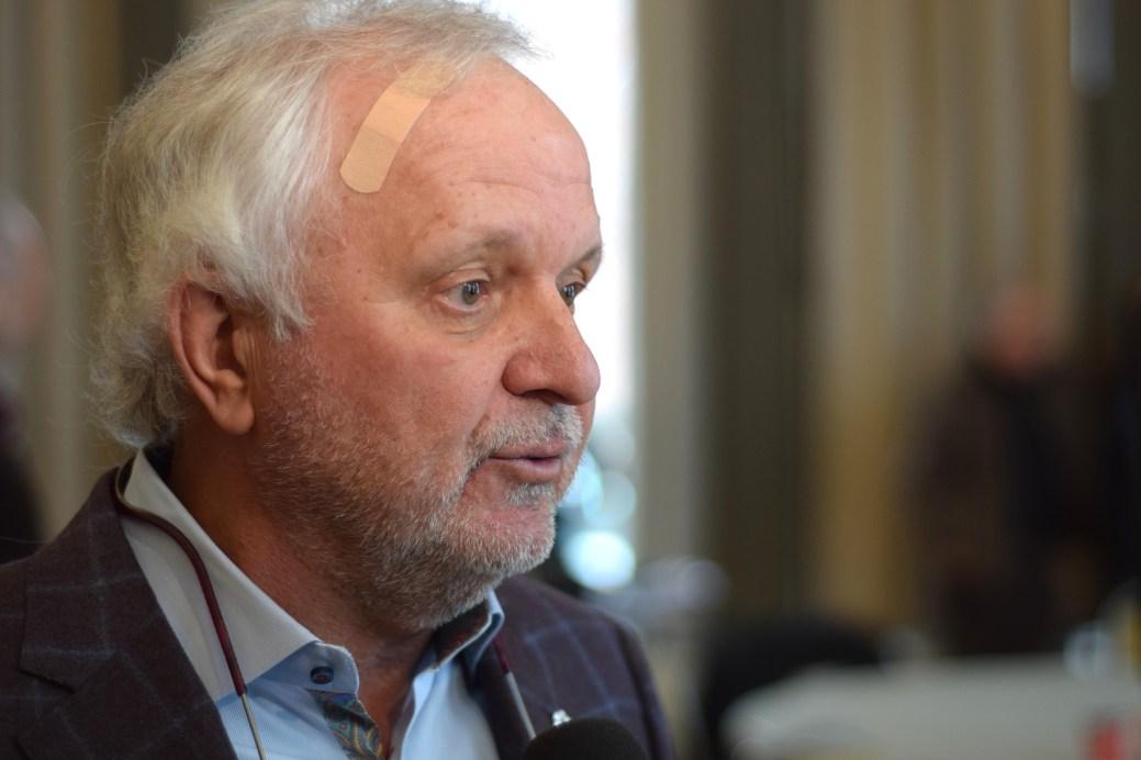 L'ex-premier ministre Camille Thériault appuie Kevin Vickers. - Acadie Nouvelle: Pascal Raiche-Nogue
