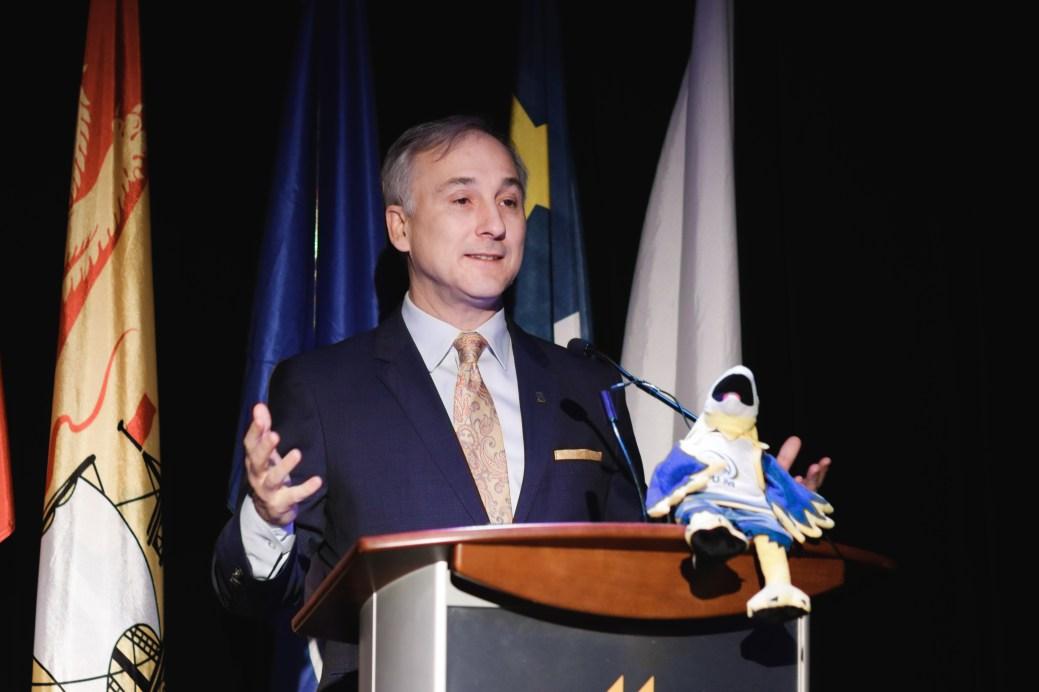 Le chef de la direction de Medavie, Bernard Lord. - Acadie Nouvelle: Patrick Lacelle
