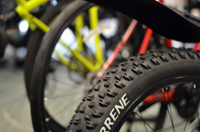 Les vélos à pneus surdimensionnés, ou fatbike, gagnent en popularité dans le Sud-Est. - Acadie Nouvelle: Jean-Marc Doiron