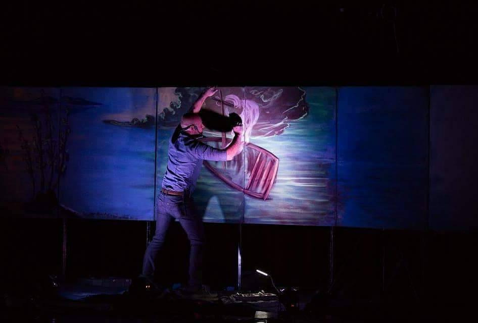 François Bergeron, alias l'Artiste à la Craie, est de retour dans la province avec deux spectacles, Bon Berger et Tempête apaisée, qu'il présentera dans les prochains jours devant le grand public ainsi que dans des résidences pour personnes âgées et dans des groupes de catéchèse. - Gracieuseté: François Bergeron