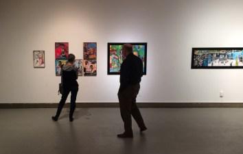 Sylvie Pilotte présente son exposition Déraisonance dans plusieurs villes du Nouveau-Brunswick. - Gracieuseté.