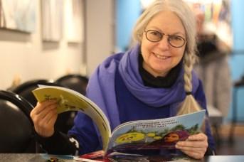 La directrice des Éditions Bouton d'or Acadie, Marie Cadieux. - Archives