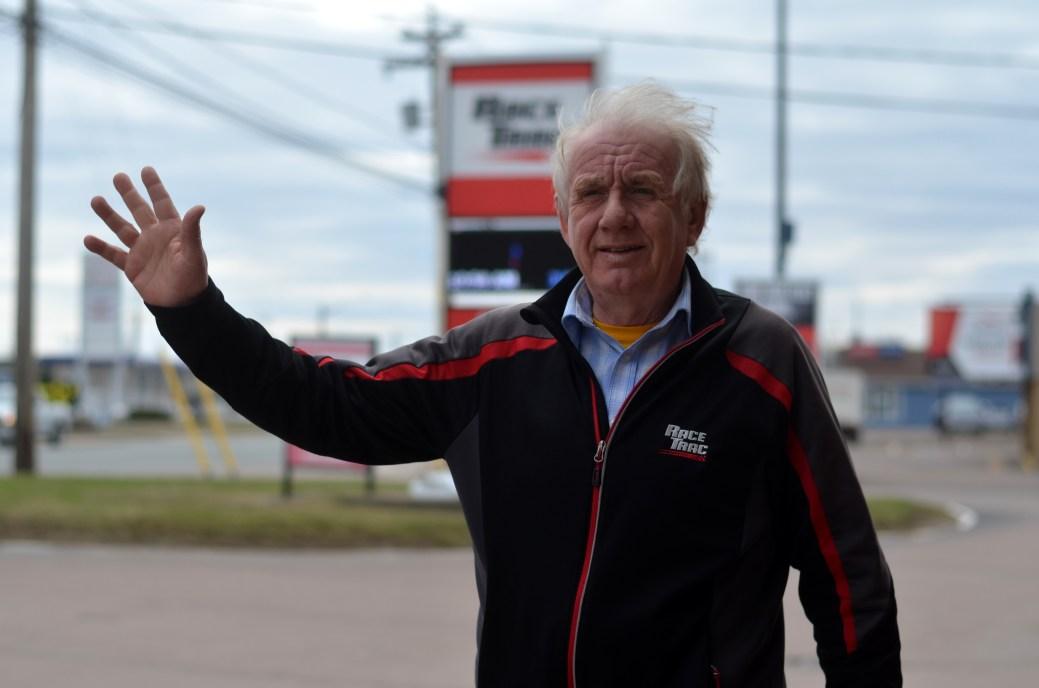 Danny Wilson, copropriétaire de la succursale de Race Trac à Moncton. - Acadie Nouvelle: Jean-Marc Doiron