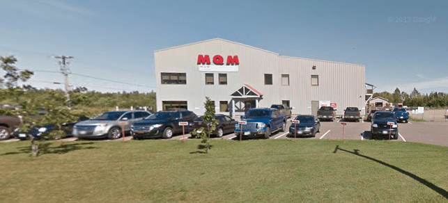 Les bureaux de MQM à Tracadie. - Google