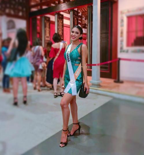 Precious Abygail Dedam, de Lagacéville, près de Néguac, représente le Canada au concours Miss Landscapes International, qui se déroule en Chine cette année. - Photo gracieuseté