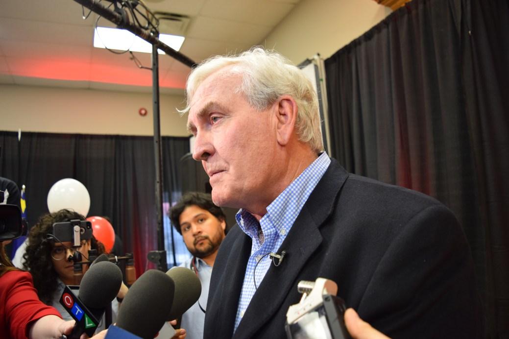 Le chef du Parti libéral, Kevin Vickers, tentera de faire son entrée à la législature. - Archives