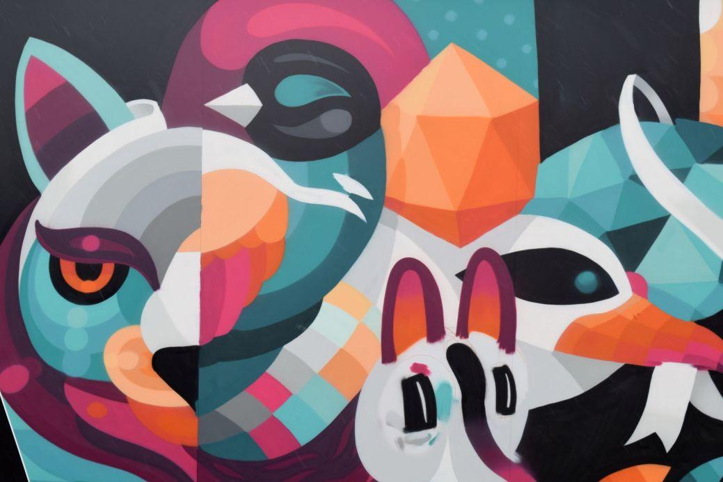 Eelco est revenu encore une fois peindre une murale à Moncton. - Acadie Nouvelle: Lili Mercure