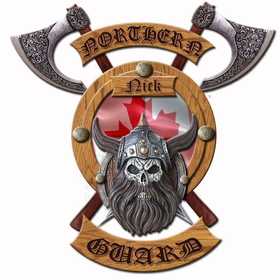 Le symbole revisité de la Northern Guard. - Photo tirée de Facebook