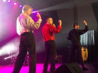 Le spectacle L'Acadie des terres et forêts en fête propose une belle gamme de pièces musicales d'hier à aujourd'hui. - Acadie Nouvelle: Sébastien Lachance