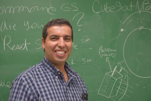 Yassine Bouslimani, professeur de génie électrique à l'Université de Moncton. - Acadie Nouvelle: Édouard Merlo