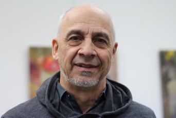 Le propriétaire de la Galerie Art-Artiste à Dieppe, Daniel Chiasson. - Acadie Nouvelle: Sylvie Mousseau