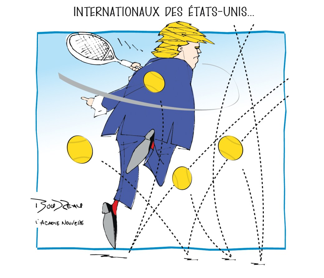 Caricature, 29 août 2019