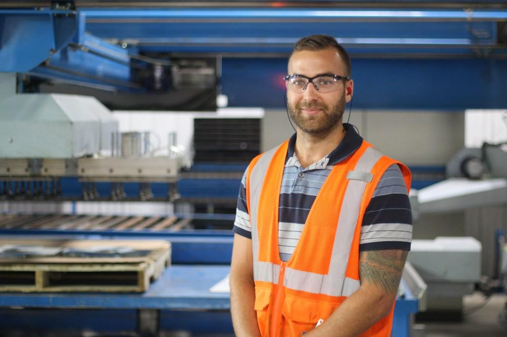 Michel Bourgoin estime que la robotisation rend le travail plus valorisant. - Acadie Nouvelle: Simon Delattre