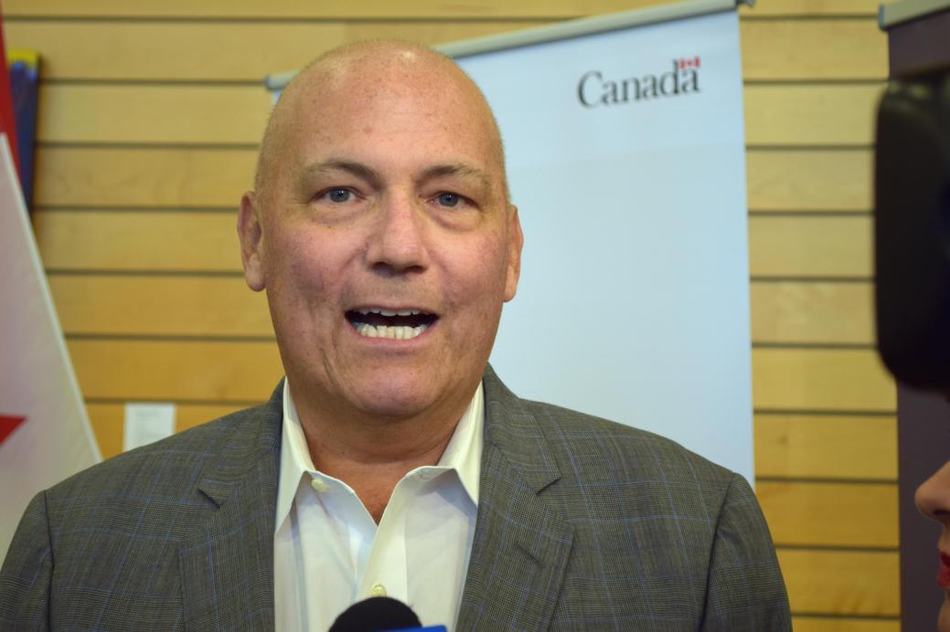 Le ministre Dominic LeBlanc - Archives