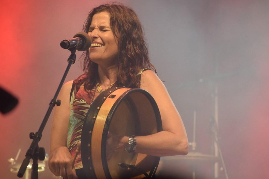 Patricia Richard au spectacle d'ouverture. - Acadie Nouvelle: Sylvie Mousseau