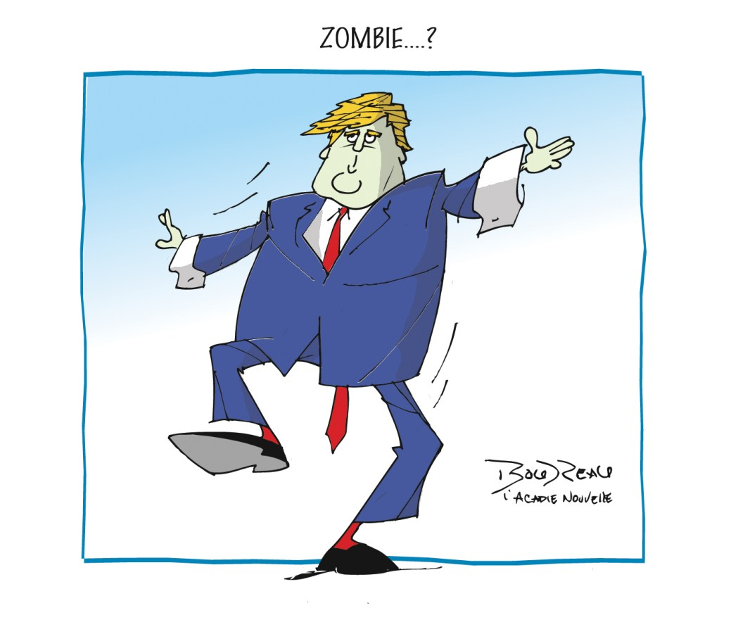 Caricature, 29 octobre 2019