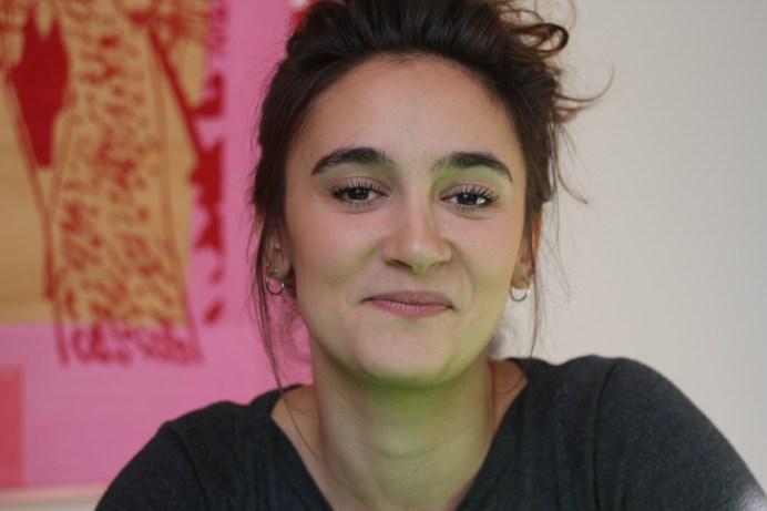 La comédienne Florence Brunet qui incarne Élodie dans la pièce Tsunami a joué dans plusieurs pièces en Acadie. - Acadie Nouvelle: Sylvie Mousseau