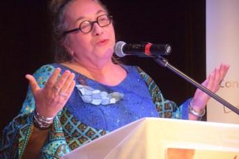 Marie-Thérèse Landry, directrice du Conseil provincial des sociétés culturelles qui organise le Festival international de slam/poésie en Acadie. Acadie Nouvelle: Sylvie Mousseau