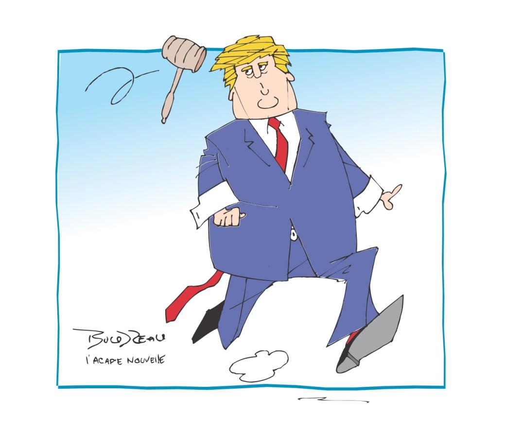 Caricature, 8 novembre 2019