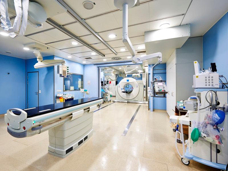 Une vue de l'intérieur de l'Hôpital universitaire de Francfort. - primomedico.com