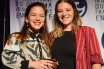 Angie et Tracey Richard ont remporté la Vague du meilleur court métrage acadien au FICFA. - Acadie Nouvelle: Sylvie Mousseau