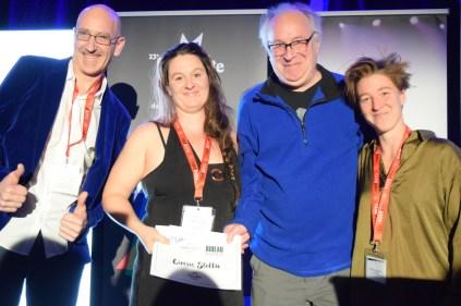 Circus Stella (Yves Landry et Julie Duguay) a reçu le Prix RADARTS-RIDEAU à la FrancoFête. Acadie Nouvelle: Sylvie Mousseau