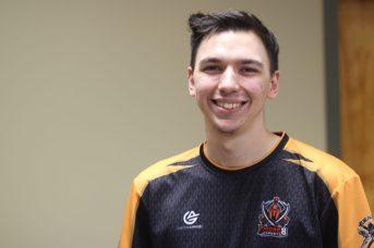 Michael Thibodeau est venu de Fredericton pour participer au tournoi. - Acadie Nouvelle: Alexandre Boudreau
