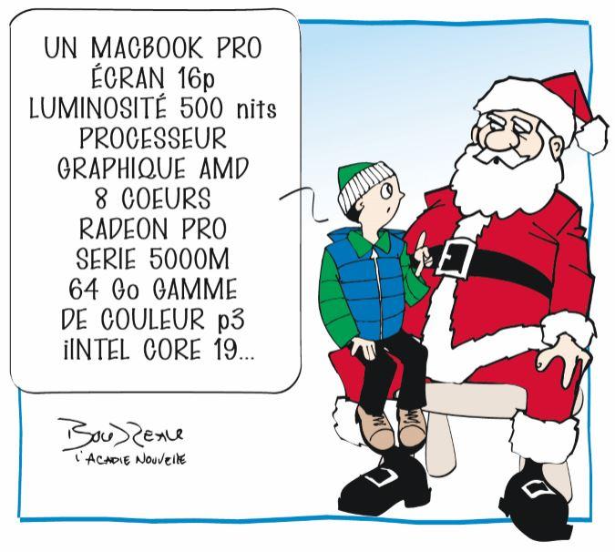 Caricature, 13 décembre 2019