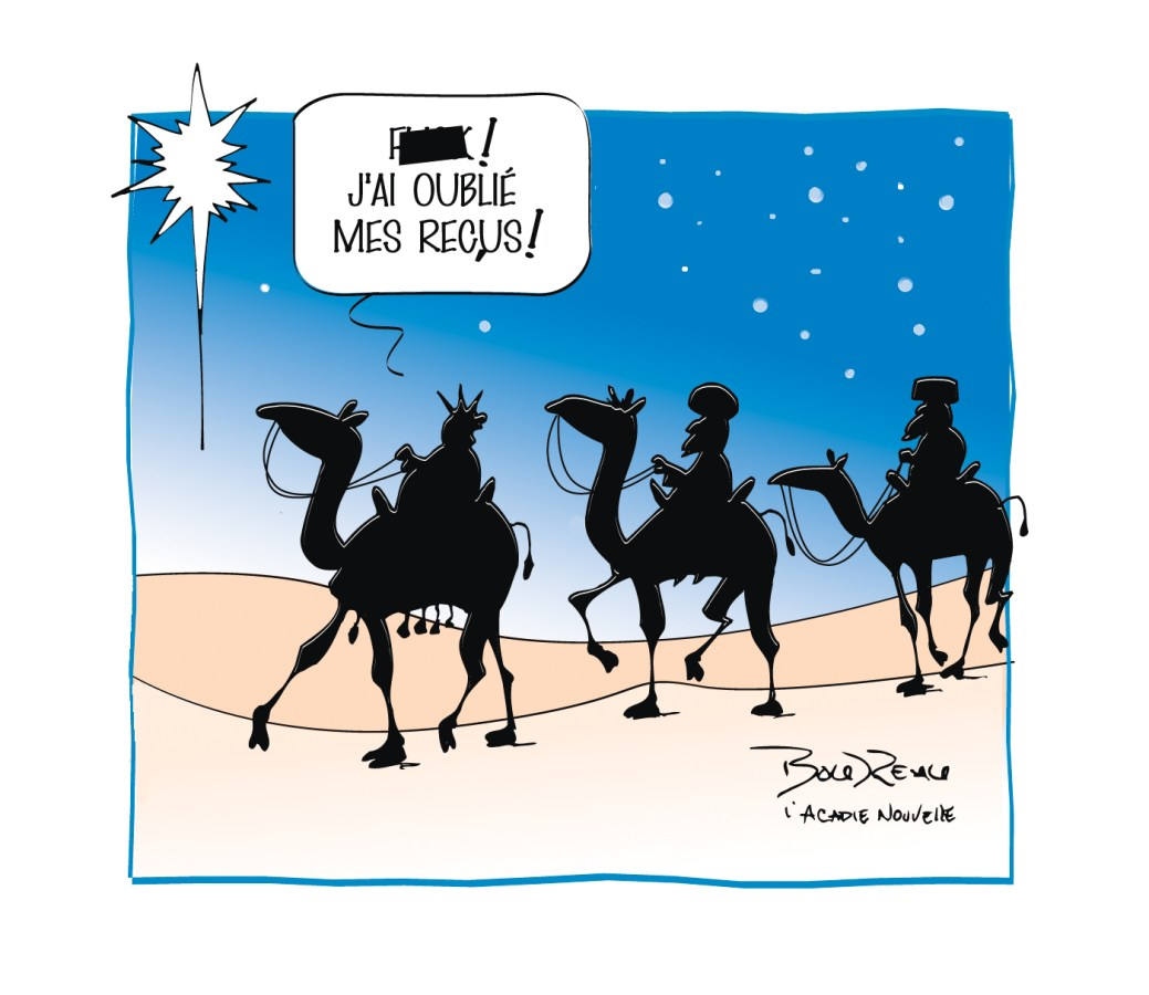 Caricature, 20 décembre 2019