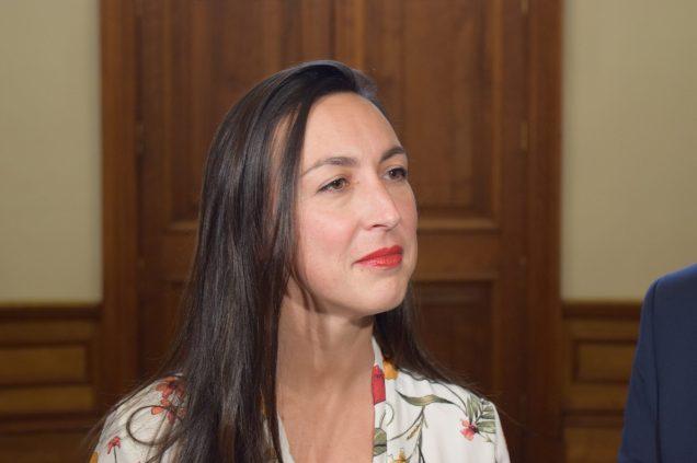 La chef adjointe du Parti libéral Isabelle Thériault. - Archives