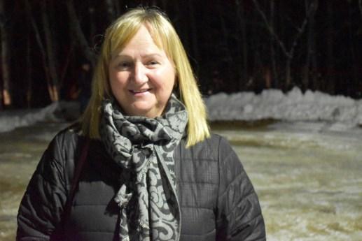 La citoyenne Bertha Manuel espère que la coop de Baie-Sainte-Anne va reprendre du poil de la bête. - Acadie Nouvelle: Alexandre Boudreau