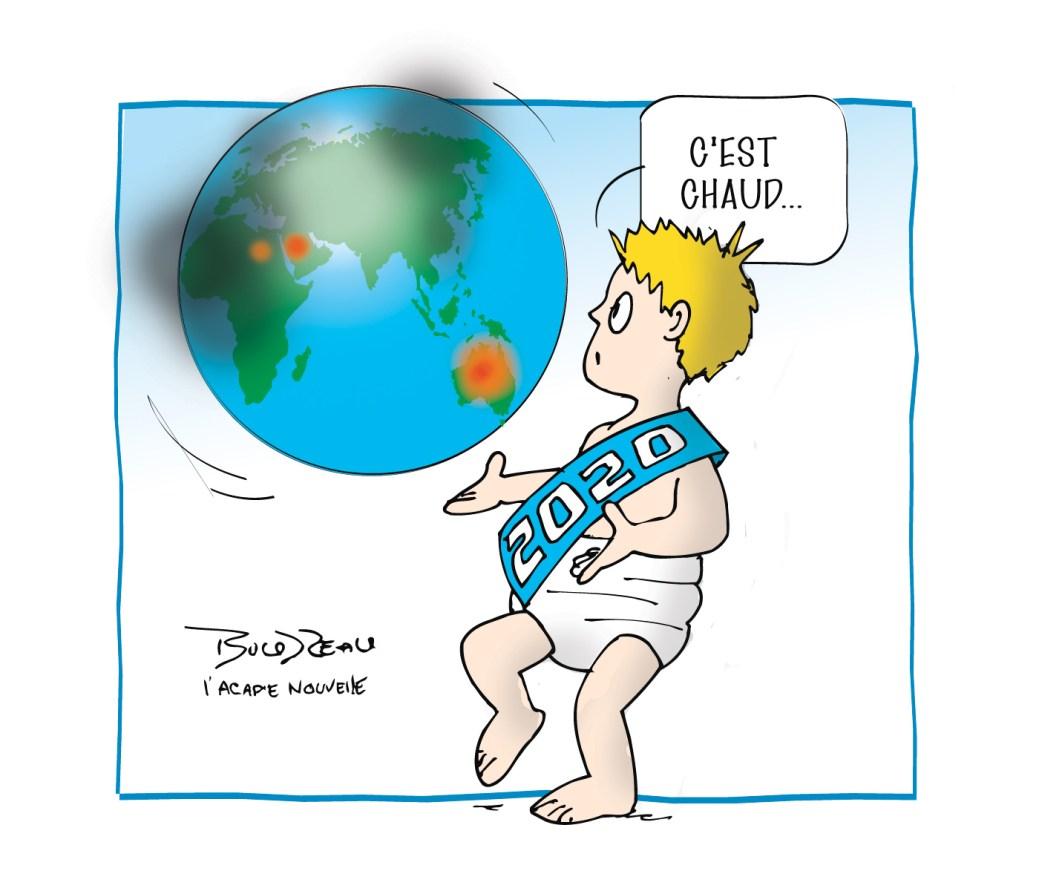 Caricature, 14 janvier 2020