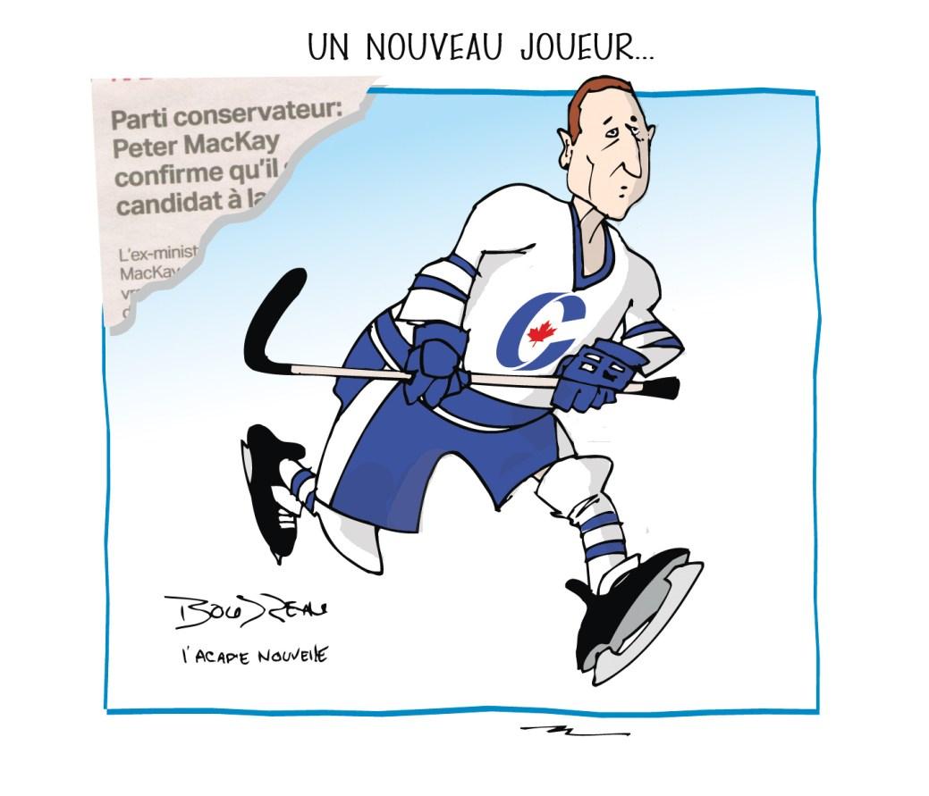 Caricature, 17 janvier 2020