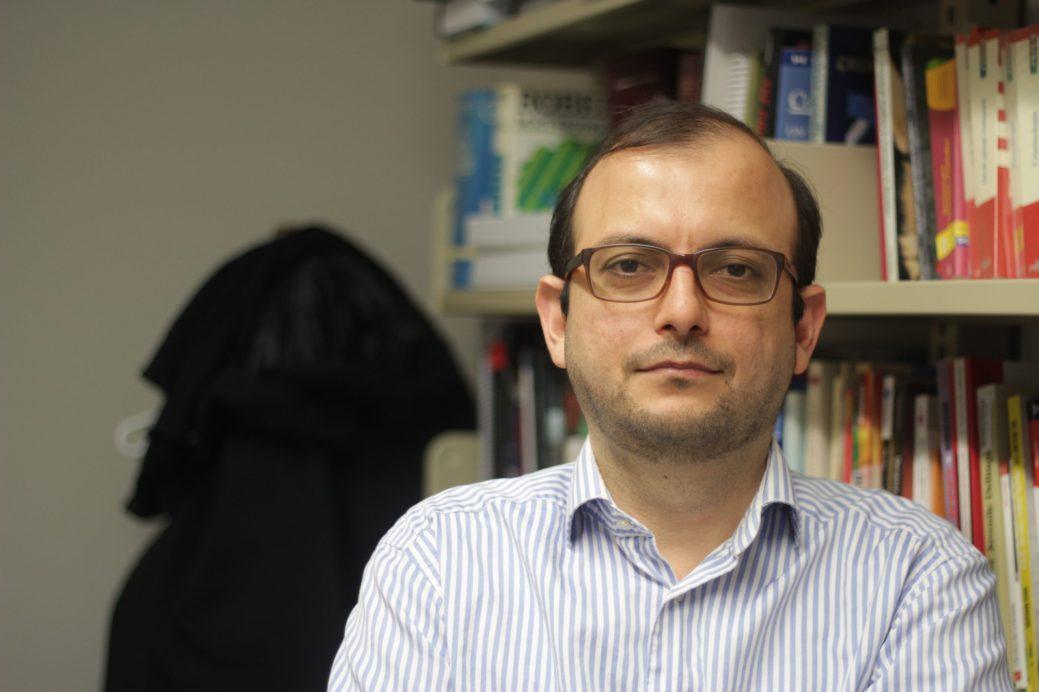 Le professeur Hesam Esfahani. - Acadie Nouvelle: Cédric Thévenin