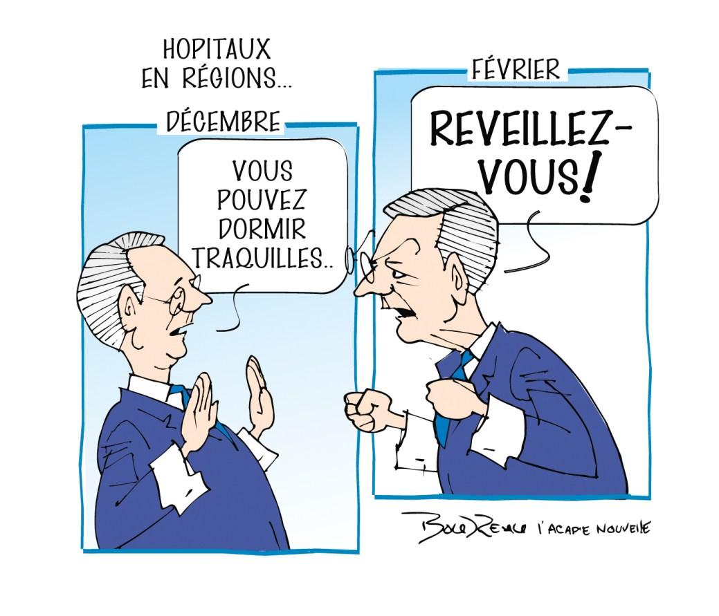 Caricature, 12 février 2020