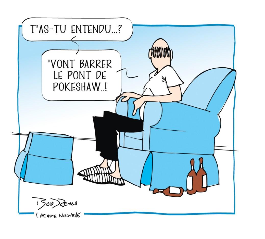 Caricature, 26 février 2020