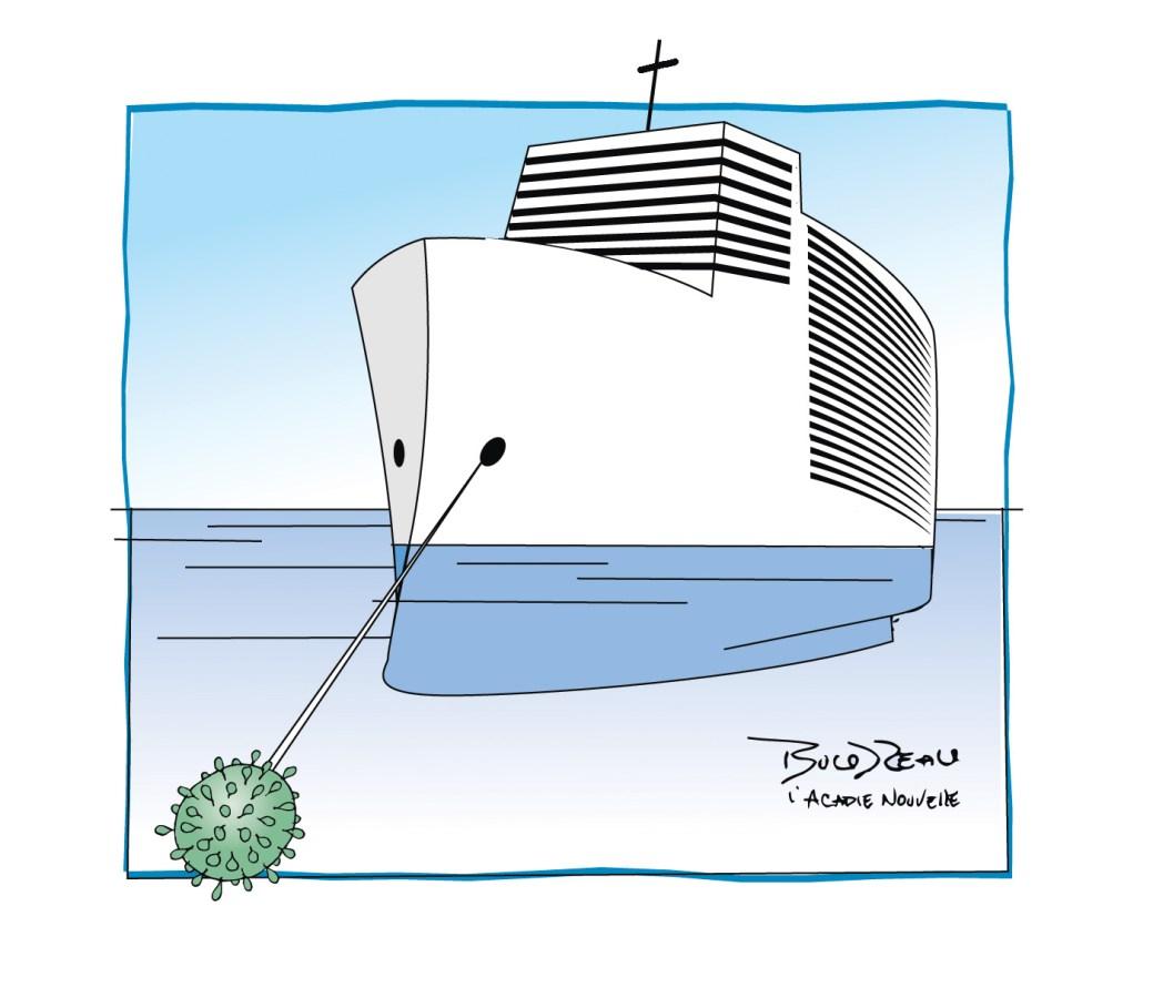 Caricature, 11 mars 2020