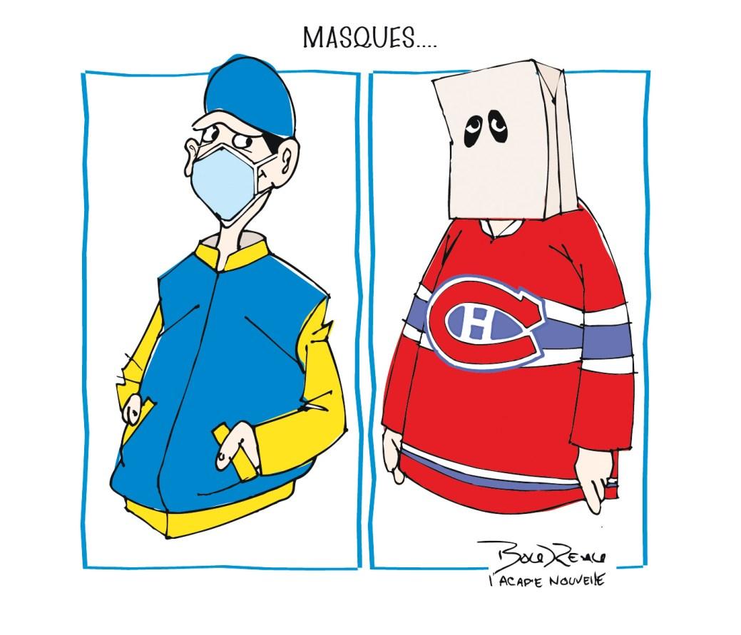Caricature, 12 mars 2020