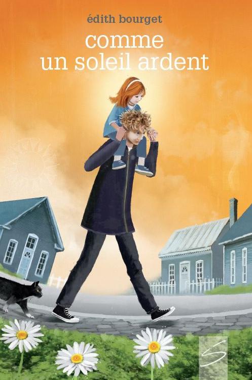 Édith Bourget vient de publier le roman Comme un soleil ardent. - Gracieuseté