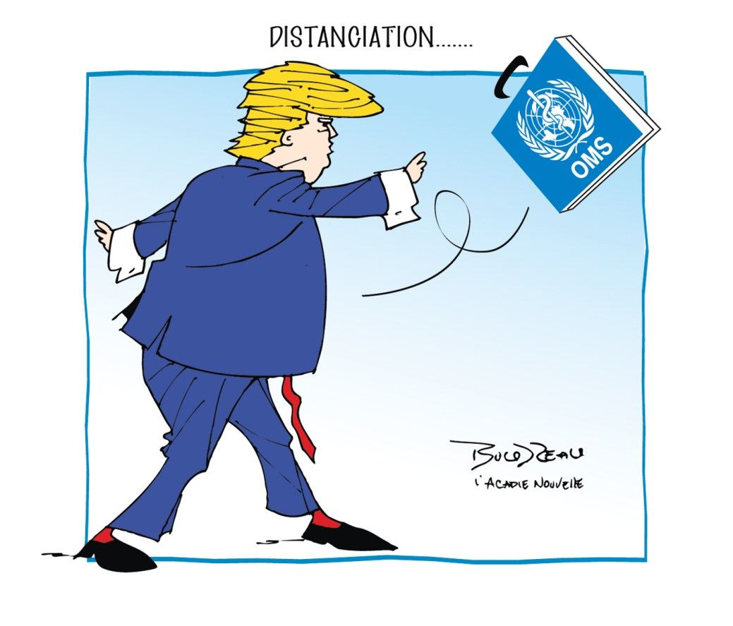 Caricature, 21 avril 2020