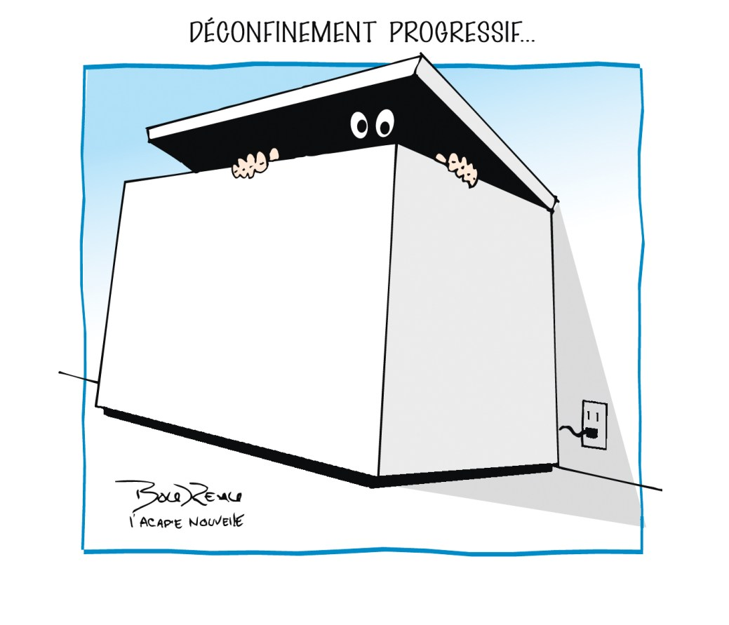 Caricature, 30 avril 2020