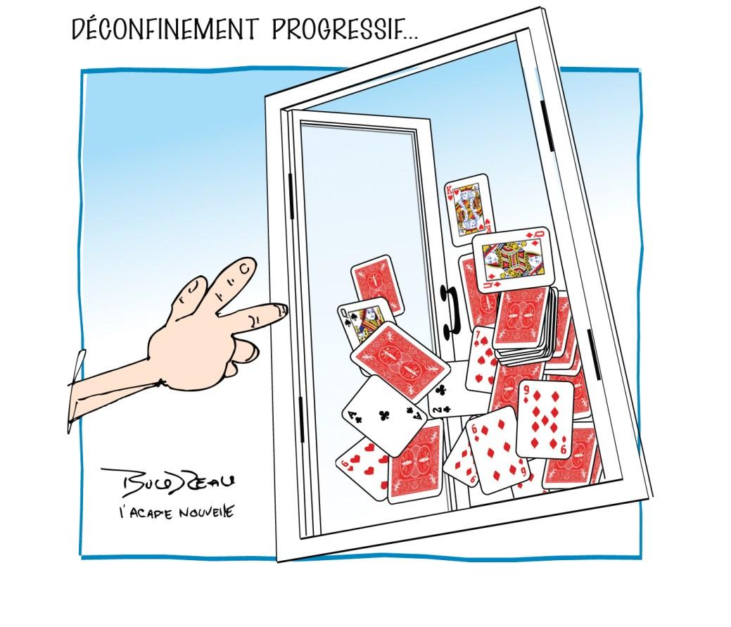 Caricature, 6 mai 2020