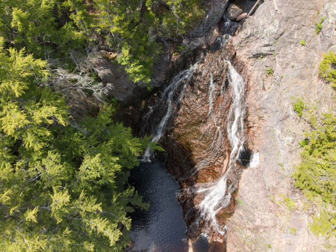 Facilement accessibles, les chutes Welsford sont de plus en plus fréquentées par les amoureux de la nature. - Acadie Nouvelle: Simon Delattre