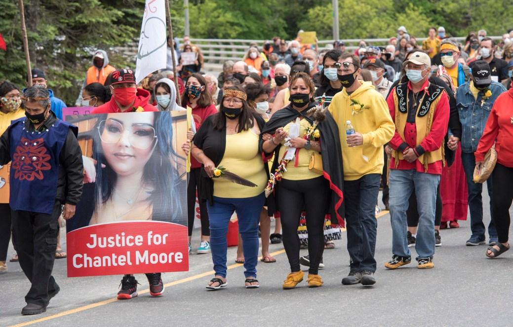 La mort de Chantel Moore, en juin à Edmundston, a été un catalyseur puissant de toutes les réflexions qui ont présentement cours sur les responsabilités et les tâches qui incombent à la police au Nouveau-Brunswick et au Canada. - Archives